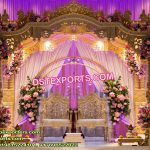 Attractive Wooden Mandap For Gujarati Wedding