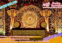 Srilankan Wedding Stage Elephant Decor