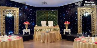 Glorious Asian Wedding Back Frame