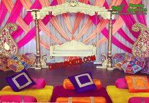 Indian Wedding Mehndi Theme Swing Set