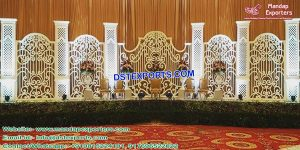 Grand Italian Wedding Back-Frame Stage