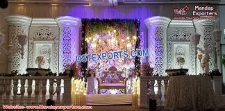 Splendid Grand Asian Wedding Stage