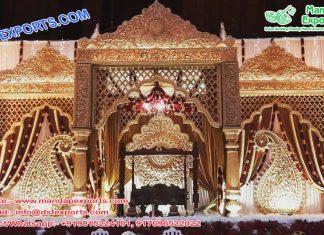 Grand Indian Wedding Raj Mahal Mandap