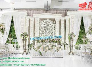 Latest Fiber Indo-Western Wedding Stage