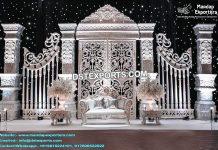 Modern White Wedding Stage Calgary
