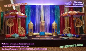 mehndi set with lamps M