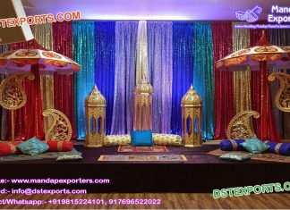 Moroccan Theme Mehndi Stage UK