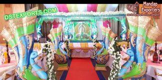 Wedding Peacock style Entrance Decoration