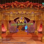Traditional Radha Krishan Wedding Mandap