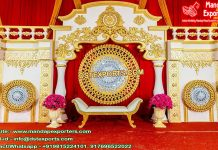 South Indian Classical Wedding Stage