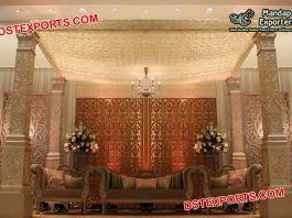 Stylish Wedding Bollywood Theme Mandap