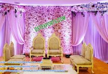 Designer Hindu Ceremony Mandap Chairs
