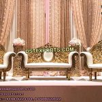 Designer Metal Carved Wedding Furniture USA