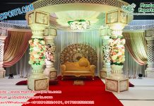 Elegant Fiber Wedding Mandap California