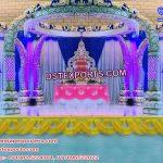 Elegant Wedding Trunk Pillar Mandap Malaysia