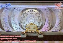 Exclusive Wedding C Style Fiber Frame Panel Dallas