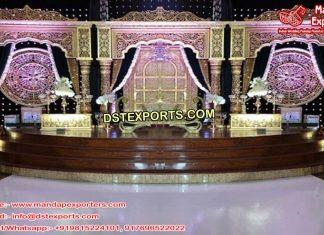 Glamorous Asian Wedding Stage Decor UK