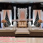 Gorgeous Asian Wedding Stage Set England