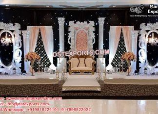 Gorgeous Asian Wedding Stage Set England