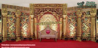 Gorgeous Golden Wedding Stage Sydney