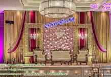 Graceful Wedding Stage Decoration Houston