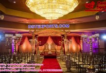 Hindu Wedding Dhanush Mandap Dallas