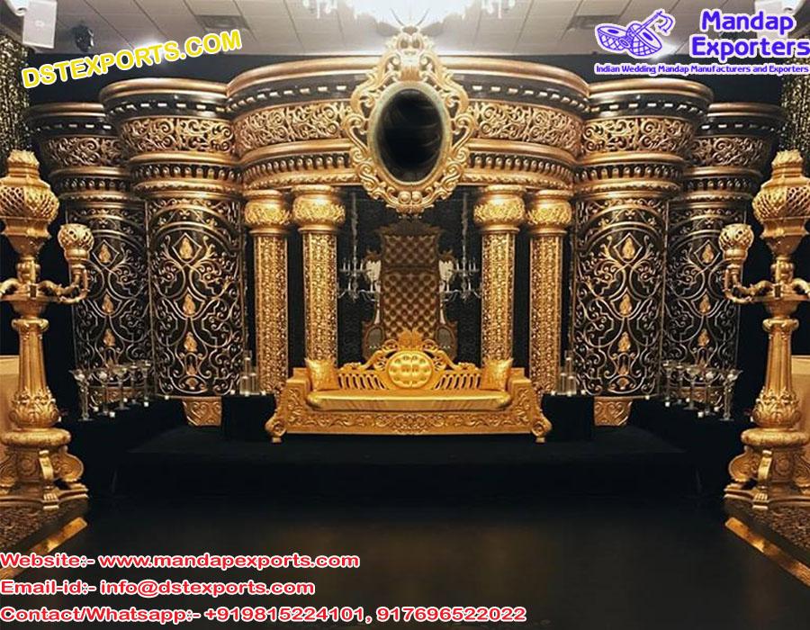 Hollywood Style Crown Wedding Stage UK