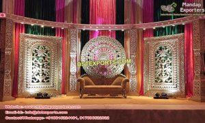 Indian Wedding Half Moon Stage Set London