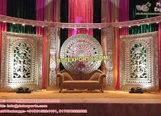 Indian Wedding Half Moon Stage Set London