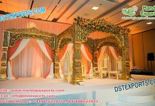 Latest Bollywood Wedding Mandap Set UK