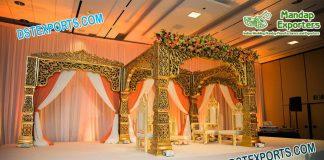Latest Bollywood Wedding Mandap Set UK