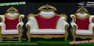 Luxury Muslim Wedding Stage Furniture Set