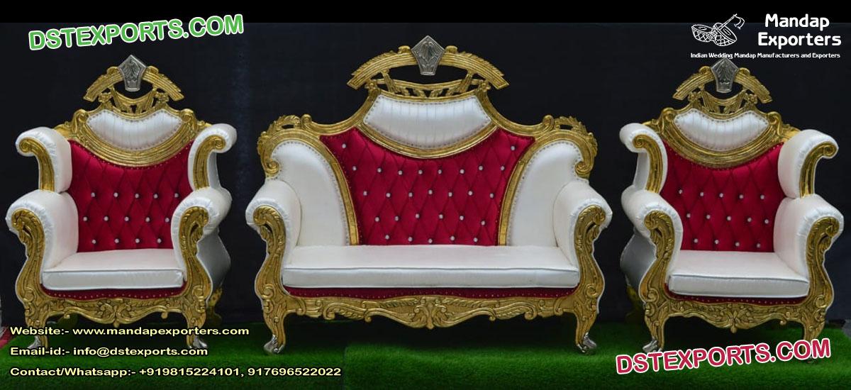 Luxury Muslim Wedding Stage Furniture Set