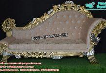 Muslim Wedding Elegant Gold Furniture