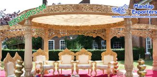Outdoor Hindu Wedding Mandap Australia