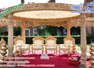 Outdoor Hindu Wedding Mandap Australia