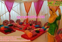 Punjabi Style Mehndi Setup Canada