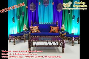 Royal Muslim Wedding Furniture Set