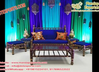 Royal Muslim Wedding Furniture Set