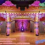 Srilankan Peacock Theme Wedding Mandap Stage