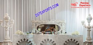 Stylish Wedding Moroccan Lamp Stage UK