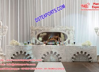 Stylish Wedding Moroccan Lamp Stage UK