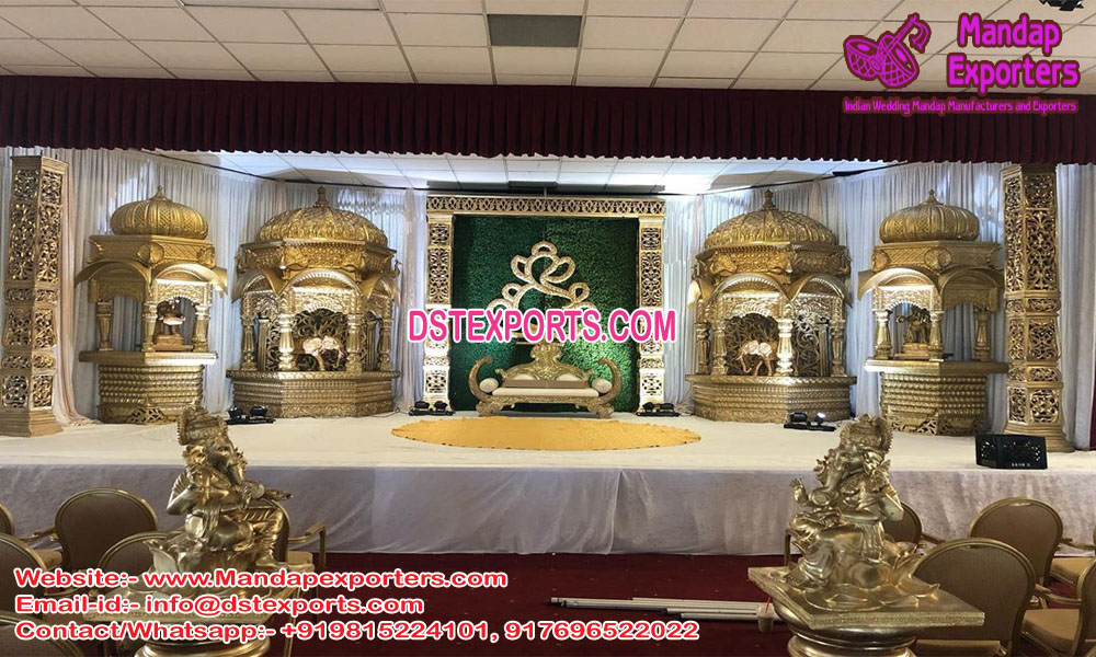 Top Hindu Wedding Stage Decor USA