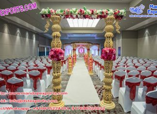 Traditional Entrance Decoration for Indian Wedding