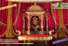 Traditional Indian Wedding Stage Decoration Props