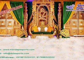 Traditional Tamilian Wedding Fiber Stage Oslo