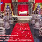 Wedding Aisleway Dev Pillars with Ganesha Statues