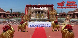Wedding Walkway theme Elephant Statues