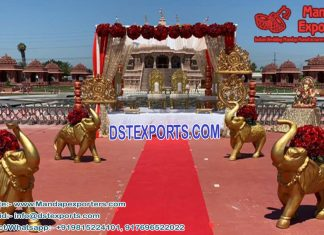 Wedding Walkway theme Elephant Statues