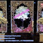 Asian Wedding Fiber Back-Walls Panel